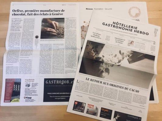 Article Hôtellerie Gastronomie Hebdo