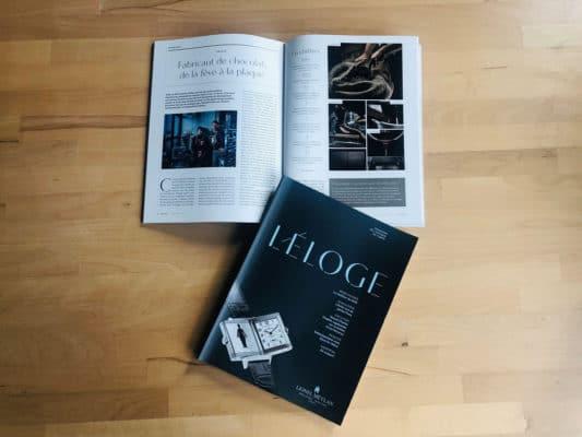Article Eloge Magazine